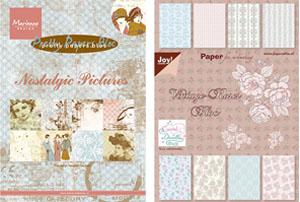 Дизайнерски хартии и картони на блок, A4 и A5 формат