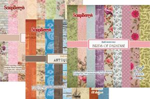 Дизайнерски хартии и картони на блок 6x6'' (15x15 см)