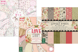 Дизайнерски хартии и картони на блок 8x8'' (20,3x20,3 см)