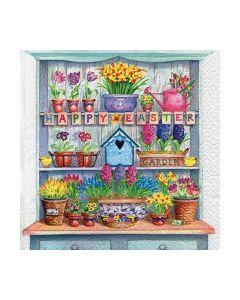 Салфетка (SN0077) 33x33, Happy Easter Cupboard