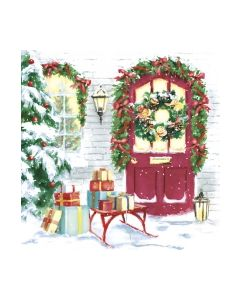 Салфетка (SN0105) 33x33 Christmas House and Gifts