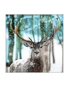 Салфетка (SN0120) 33x33, Winter Deer