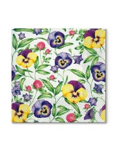 Салфетка (SN0141) 33x33, Beautiful Pansies