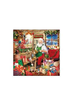 Салфетка (SN0312) 25x25 см, Santa`s Workshop