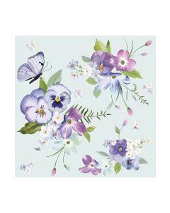 Салфетка (SN0345) 33x33 Spring Flowers