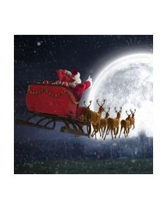 Салфетка (SN0450) 33x33, Flying Santa
