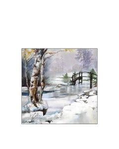 Салфетка (SN0533) 25x25 см, It`s Wintertime