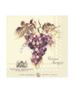 Салфетка (SN0897) 25x25 см, Vin Rouge