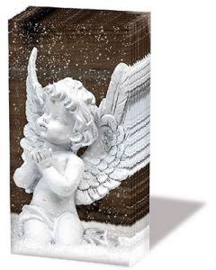 Салфетка (S1745) 21x21, Angels