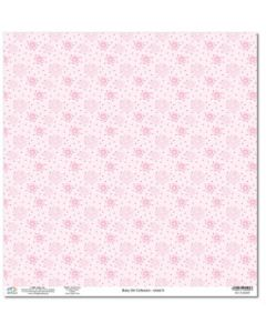 Дизайнерски картон 30 x 30 см, 190 гр. - Baby Girl Collection - No.9 (51202209)