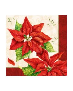 Салфетка (SN0785) 33x33, Christmas Time Red