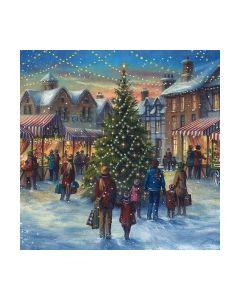 Салфетка (SN0798) 33x33, Christmas market