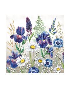 Салфетка (SN0813) 25x25, Mixed Meadow Flowers