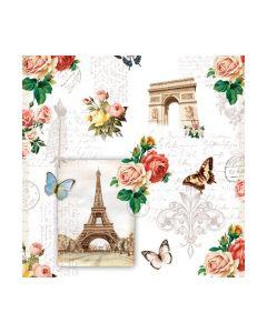 Салфетка (SN0815) 25x25, Paris Monuments