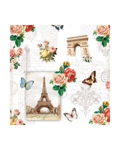 Салфетка (SN0821) 33x33, Paris Monuments