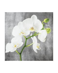 Салфетка (SN0840) 33x33, White Orchid