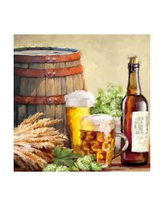 Салфетка (SN0918) 33x33, Beer And Hops