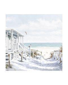 Салфетка (SN0927) 33x33, Beach Cabin
