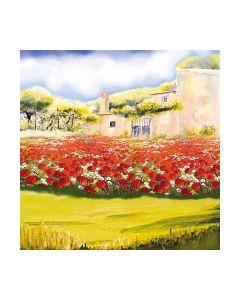 Салфетка (SN0933) 33x33, Poppy Garden