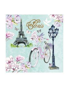 Салфетка (SN0942) 33x33, Bike In Paris