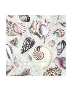 Салфетка (SN0958) 33x33, SHELLS OF THE SEA nature