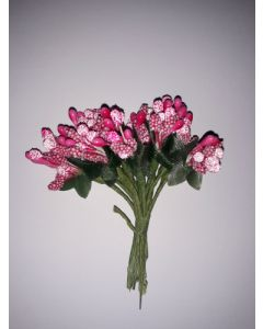 Захарни тичинки за декорация - Розови
