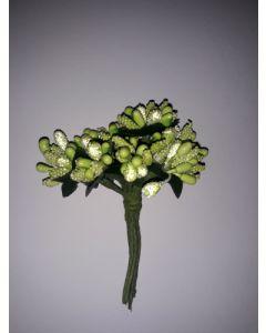 Захарни тичинки за декорация - Зелени