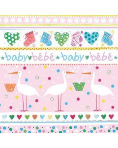 Салфетка (S1363) 33x33 Baby girl