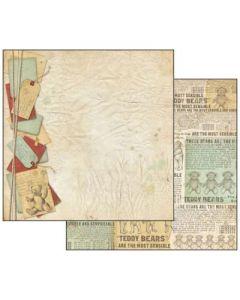 Stamperia - Дизайнерски скрапбукинг картон 30,5 x 30,5 см (sbb467)