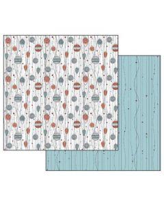 Stamperia - Дизайнерски скрапбукинг картон 30,5 x 30,5 см (sbb482)