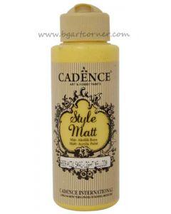 Акрилна боя CADENCE STYLE MATT 120ml - (9009) - Light Yellow