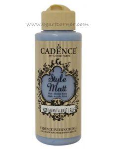 Акрилна боя CADENCE STYLE MATT 120ml - (9028) - Lavander blue