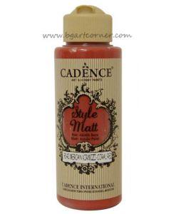 Акрилна боя CADENCE STYLE MATT 120ml - (9042) - Coral red