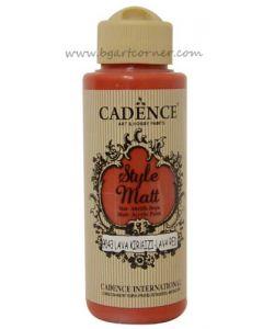 Акрилна боя CADENCE STYLE MATT 120ml - (9043) - Lava red