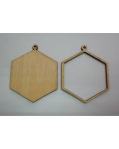 Дървени основи за бижута - 001