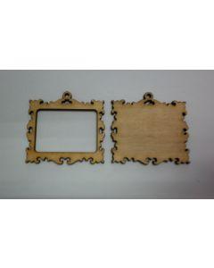 Дървени основи за бижута - 002