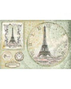 Stamperia - Оризова хартия за декупаж (DFS347), 48x33, Париж