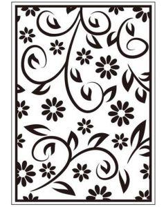 Папка за релеф (ембосинг), 10,5x15 см, Floral Summer (ctfd3054)