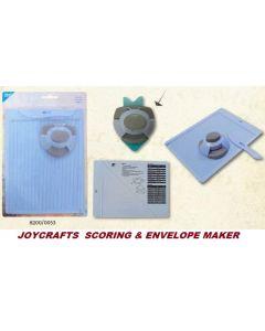 JOYCRAFTS FOLDING BOARD  - Уред за картички и пликове + пънч