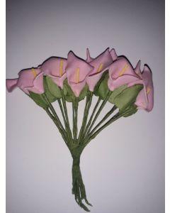Силиконова декоративна калия - розова