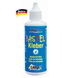 BASTEL KLEBER - Лепило за декорация и Куилинг, 80мл (49360)