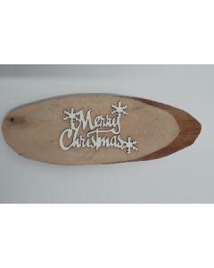 Надпис от бирен картон -  Merry Christmas 1
