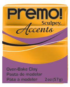"Полимерна глина ""Premo Accents"" от Sculpey (5303) Gold"