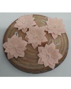 Ръчно изработени цветя 2 - Светло розово /ROSA/