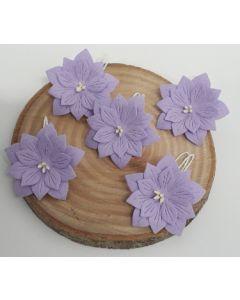 Ръчно изработени цветя 2 - Светло лилаво /VIOLETTA/
