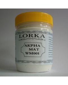 ЛОРКА - Акрилна боя (WM001/300gr) Бял мат