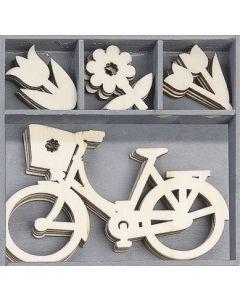 Дървени елементи - Bike (1030)